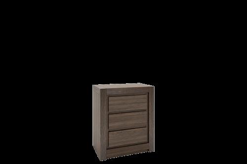 dębowa szafka do sypialni