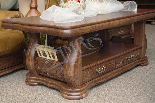 przykład ławy dębowej do salonu arizona