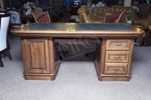 dębowe biurko klasyczne