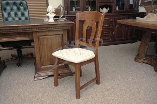 klasyczne dębowe krzesło