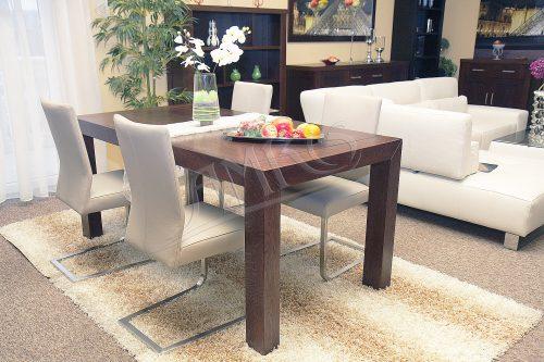 wizualizacja stołu dębowego verdon do salonu