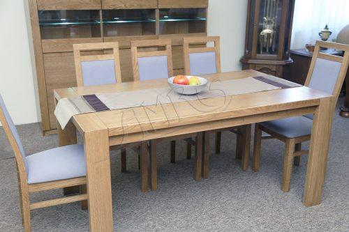 Stół do salonu z komfortowej kolekcji nowoczesnych dębowych mebli, wykonany z najwyższą dokładnością .