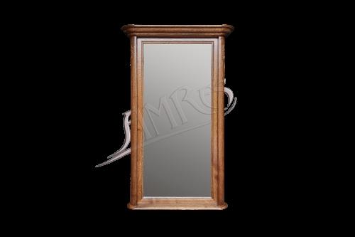 lustro fryderyk w drewnianej ramie wykonane ze starannością i dokładnością, idealne do przedpokoju lub salonu.