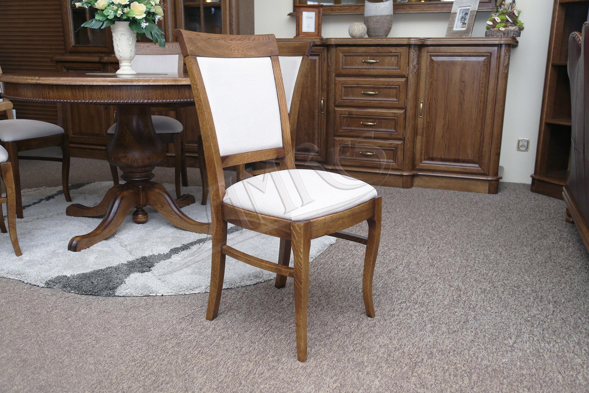 Krzesła dębowe do salonu